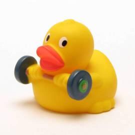 Badeente Gewichtheber - Bild vergrößern