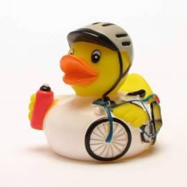Badeente Radrennfahrer - Bild vergrößern