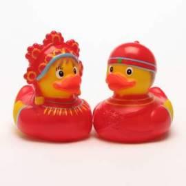 Quietscheentenpaar Russisches Brautpaar - Bild vergrößern