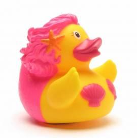 Meerjungfrau Badeente pink - Bild vergrößern