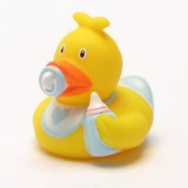 Mini Badeente Baby Junge - Bild vergrößern
