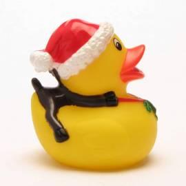 Badeente Weihnachtsmann - Bild vergrößern