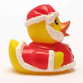 Quietscheentchen Weihnachtsmann - Bild vergrößern