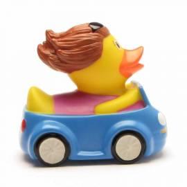 Autofahrerin  Badeente - Bild vergrößern