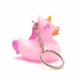 Schlüsselanhänger Einhorn pink - Bild vergrößern