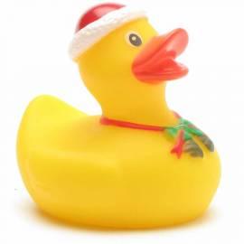 Weihnachtsmann Badeente - Bild vergrößern