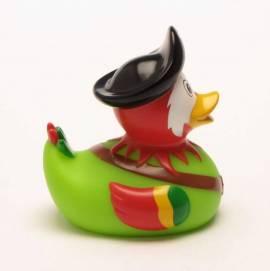 Quietscheente Piraten Papagei - Bild vergrößern