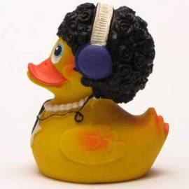 Disco Duck gelb - Bild vergrößern