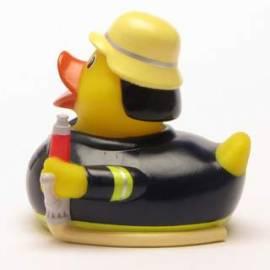 Quietscheente Feuerwehrmann 112 - Bild vergrößern