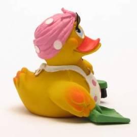 Putzfrau Ente - Bild vergrößern